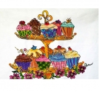 J27 Cup Cake Stand